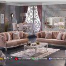 Baru 1 Set Kursi Sofa Minimalis Jepara Beautiful Rose MF151