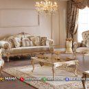 Baru Sofa Mewah Modern Model Ukir Mahkota Epic MF72