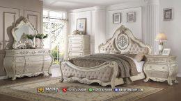 Beautiful Kamar Set Mewah Ukir Jepara Memorable Bianca MF120