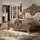 Desain Kamar Tidur Mewah Ukir Jepara Luxurious MF200
