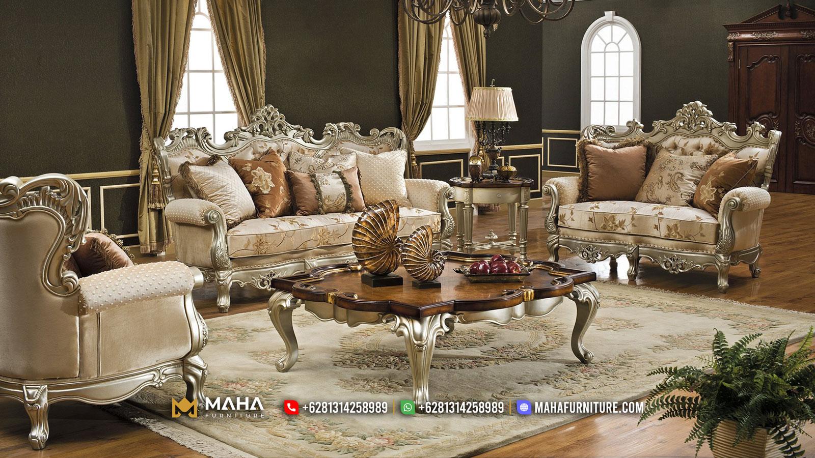 Desain Sofa Ruang Tamu Mewah Luxury Interior Living Room Inspiring MF26