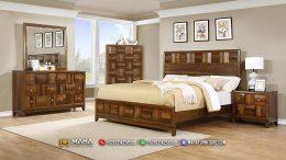 Furniture Kamar Tidur Minimalis Desain Baru Square Focus MF137