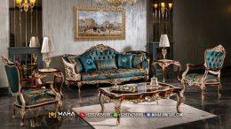 Harga Set Sofa Tamu Mewah Ukir Jepara Beautiful MF210