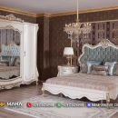 Harga Tempat Tidur, Kamar Set Jepara Special Ivory MF118