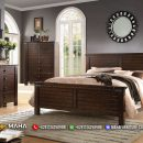 Harga Tempat Tidur Minimalis Jepara Jati Natural Beauty MF144