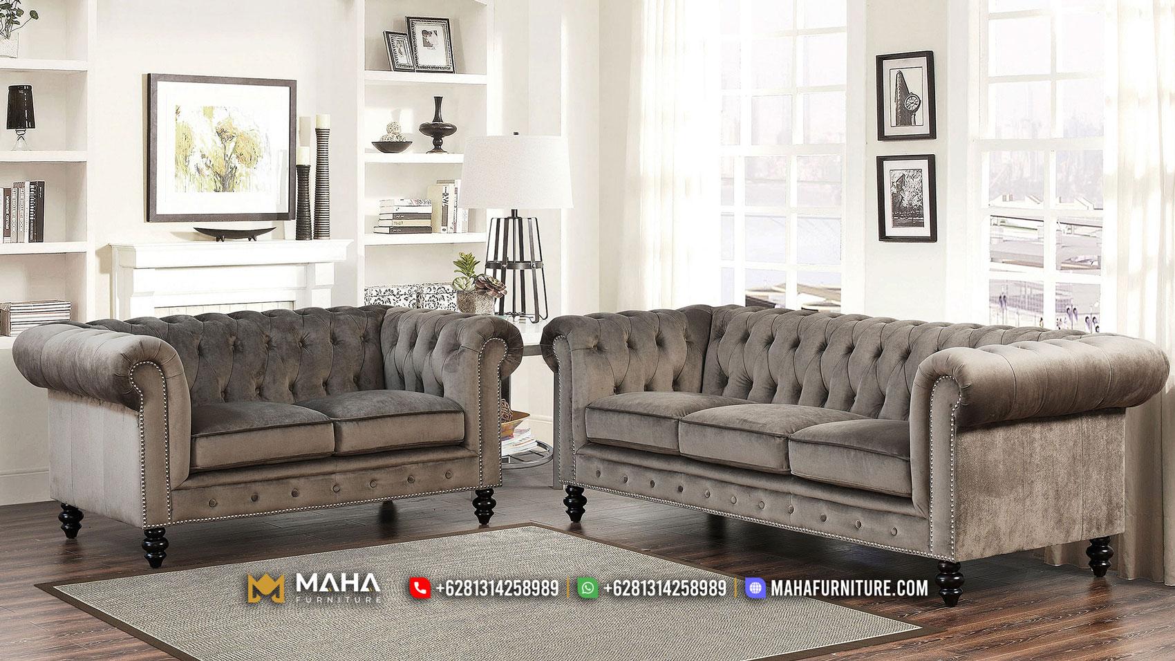 Impressive Sofa Tamu Jepara Great Wood Black Color MF43