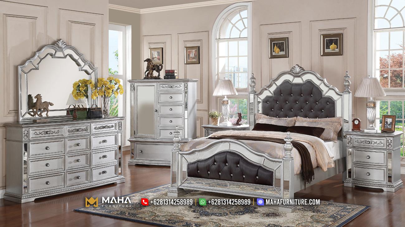 Jual 1 Set Tempat Tidur Terbaru Jepara Gaya Mewah MF149