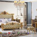 Jual Kamar Set Jepara Tempat Tidur Mewah Glamorous MF114