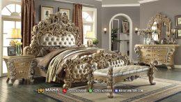 Jual Set Kamar Mewah Ukiran 3D, BurlyWood Epic Model MF102