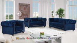 Jual Sofa Minimalis Mewah Chesterfield Royal Blue MF240