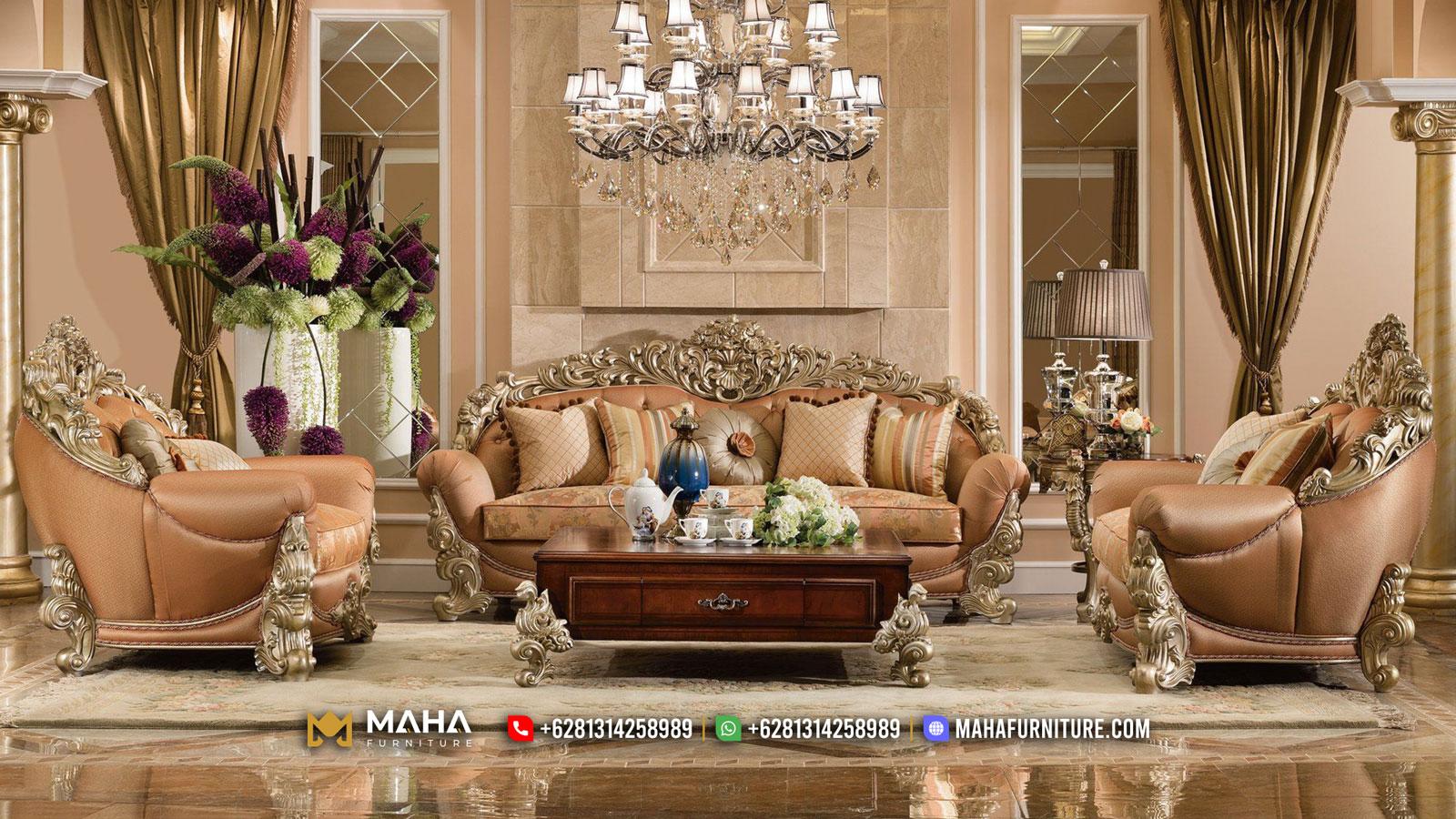 Kursi Sofa Tamu Mewah Jepara Luxury Majestic Design Glorious MF28