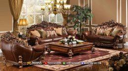 Kursi Sofa Ukir Mewah Model Terbaru MF59