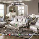 Love Set Sofa Tamu Mewah Silver Champagne Excellent Color Luxury MF21