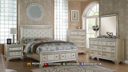 Luxury Set Kamar Tidur Jepara White Pearl Lilia MF148