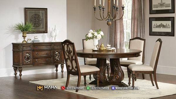 Model Meja Makan Minimalis Jepara Model Baru Exclusive MF218