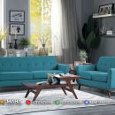 Model Sofa Minimalis Retro Kancing Terbaru Simple MF50