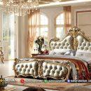 Model Tempat Tidur Mewah Luxurious Golden Shinning MF201