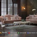 Set Kursi Sofa Minimalis Mewah Ukir Luxury Lemonade MF95
