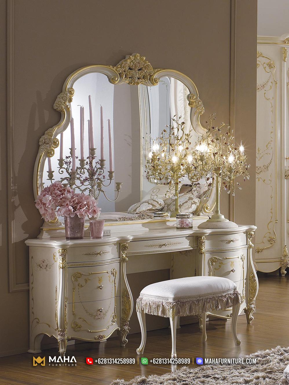 Set Meja Rias Baru Luxurios Glamorous Paris MF177