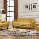 Set Sofa Minimalis Jepara 321 Yellow Amazing Color MF41