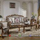 Set Sofa Tamu Mewah Jepara Glamorous MF38