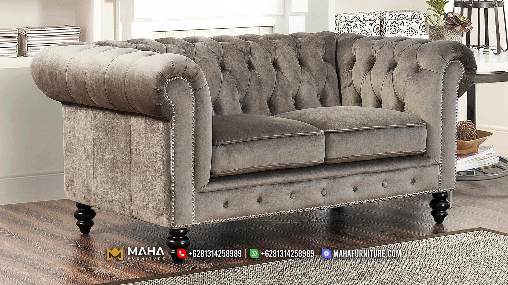 Sofa Mewah Jepara Italia Model, Natural Color Best Choice MF52