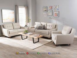 Sofa Minimalis Untuk Ruang Tamu Magic Snow Clear MF86