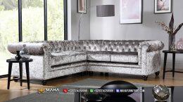 Sofa Sudut Mewah Jepara, Elegant Model And Color MF54