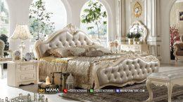 Terbaik Model Kamar Mewah Ukir Jepara Luxurious Beige MF109