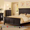 Terlaris Kamar Set Minimalis Klasik Black Elegan MF140