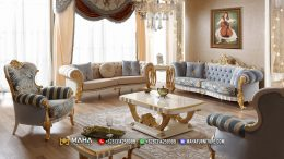 Terpopuler Set Kursi Sofa Mewah Model Klasik Special MF65