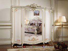 Beauty Alonzia Lemari Pakaian Mewah Jepara Luxury Carving MF319