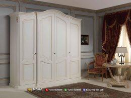 Best Product Lemari Pakaian Minimalis 4 Pintu Furniture Jepara MF307