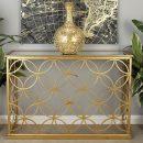 Desain Meja Konsul Jepara Luxury Golden Rich MF276