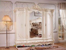 Glamour Style Lemari Pakaian Terpopular Furniture Jepara MF331