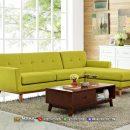 Harga Sofa Minimalis Retro Jepara Exclusive Yellow Lemon MF247