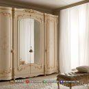 Inspirasi Lemari Pakaian Jepara Duco White Beauty Hanna MF314