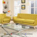 Inspirasi Sofa Minimalis Jepara Beauty Yellow Dandelion MF250