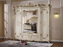 Jual Lemari Pakaian Mewah Ukir Jepara Luxury Classic MF332