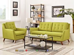 Jual Set Sofa Minimalis Retro Jepara Exclusive Model MF249