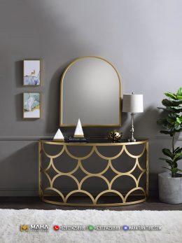 Meja Konsul Minimalis Beauty Design Industrial Furniture MF296