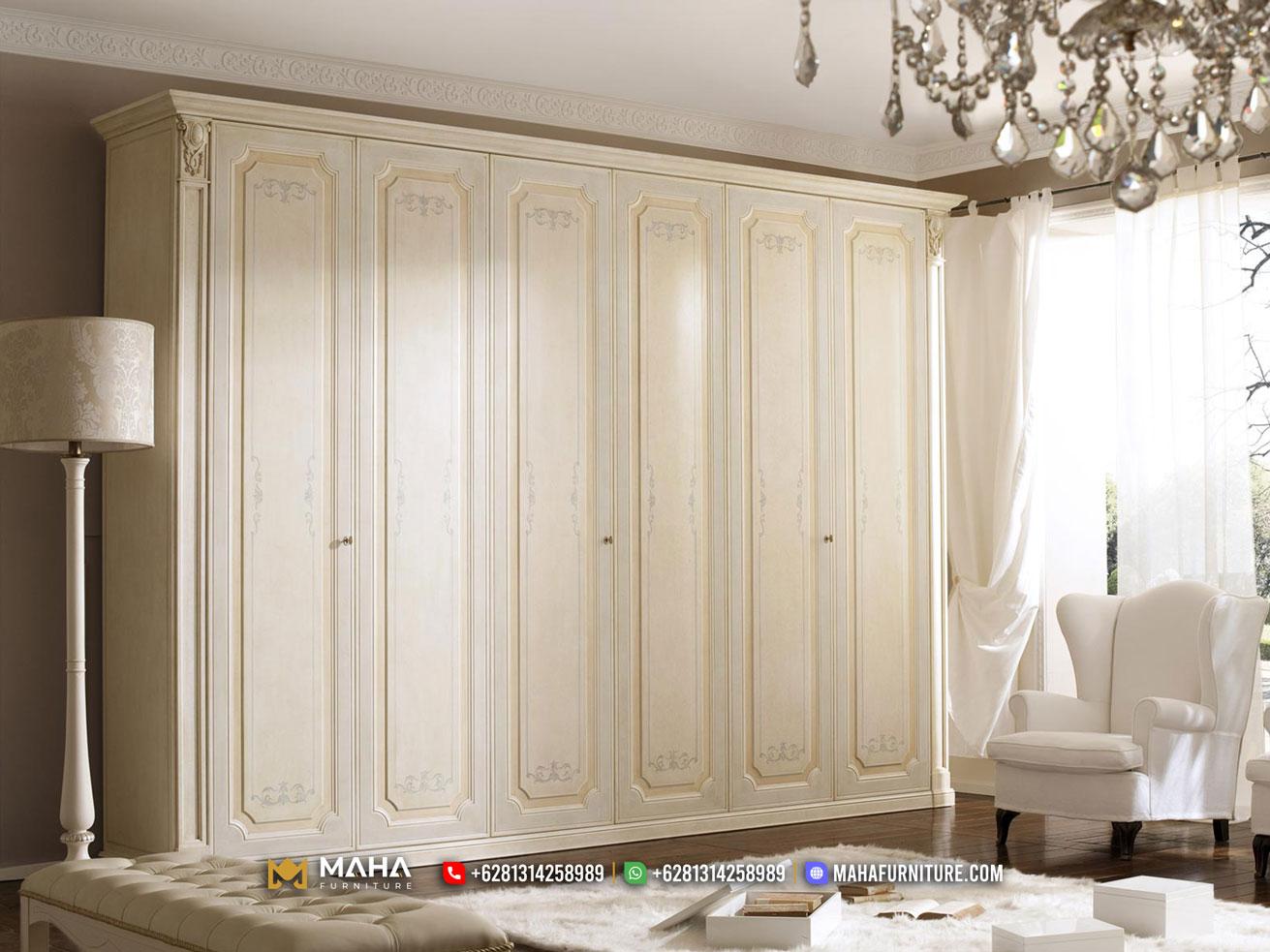 Minimalis Style Lemari Pakaian Beauty Shabby Jepara MF305