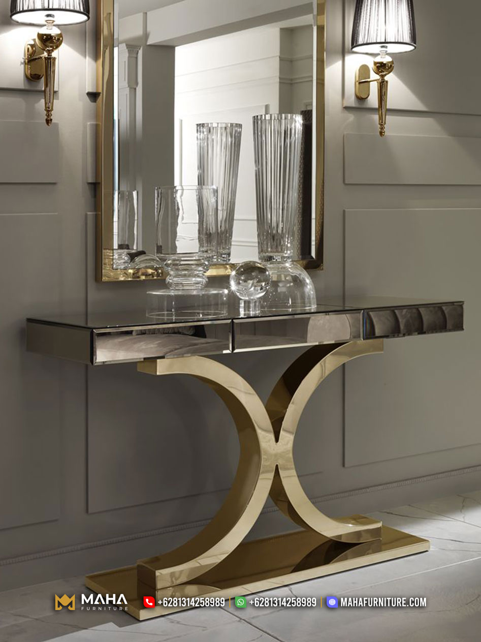 New Style Meja Konsul Furniture Jepara Amazing Design MF279
