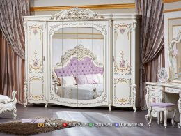 Popular Product Lemari Pakaian Terbaru Jepara Beauty Glamorous MF315
