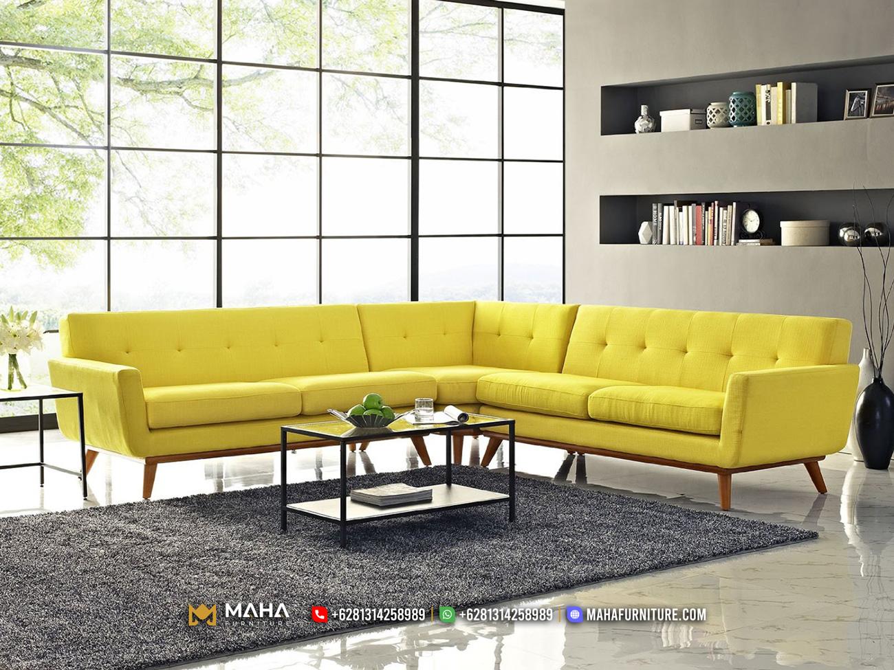 Terbaru Sofa Minimalis Jati Jepara Retro Minimalis Elegant MF248