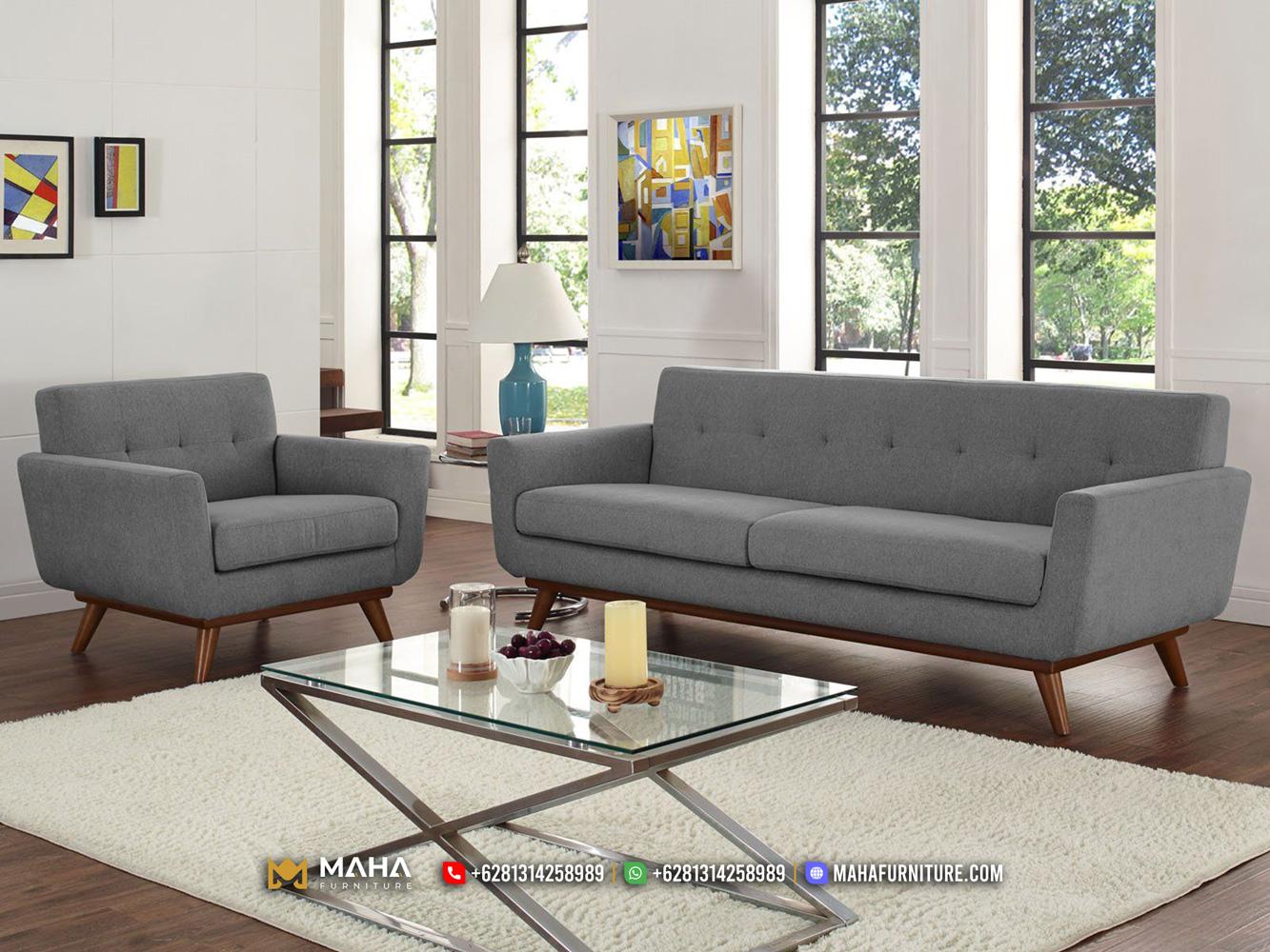 Terlaris Model Sofa Minimalis Klasik Jati Asli Jepara MF256