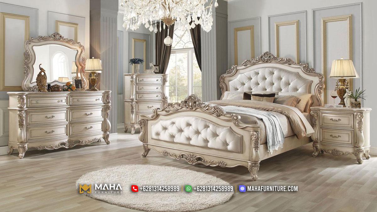 Desain Tempat Tidur Terbaru Classic Furniture Jepara MF346
