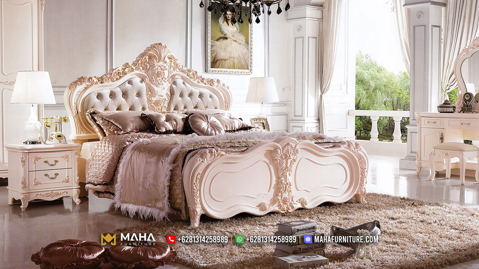 Hilarious Tempat Tidur Ukiran Mewah Luxury Carving Furniture Jepara Terbaru MF349
