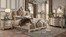 New Arrival Tempat Tidur Mewah Jepara Vanity Room Classic Design MF348