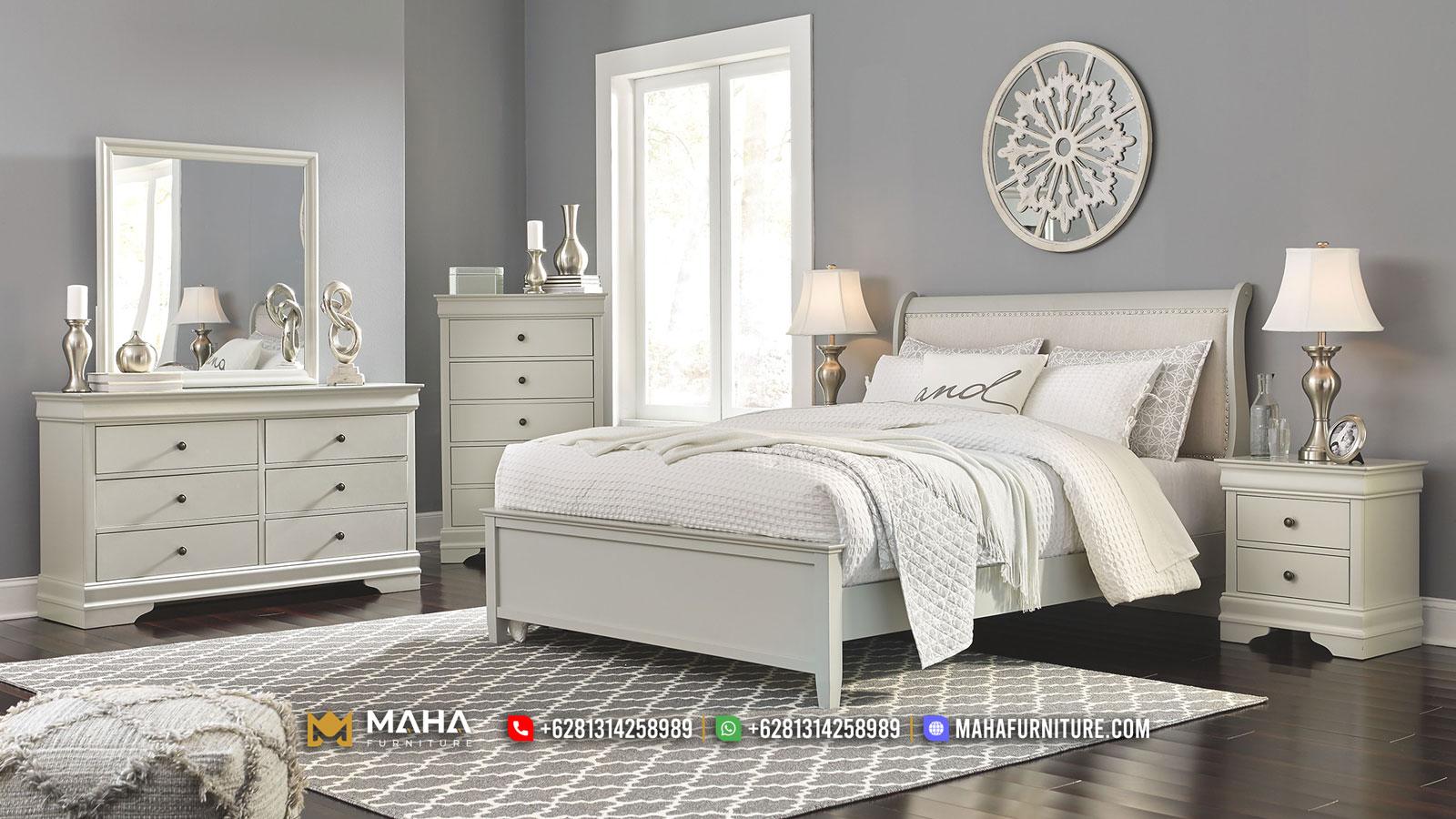 New Product Tempat Tidur Jepara Minimalis White Duco MF350